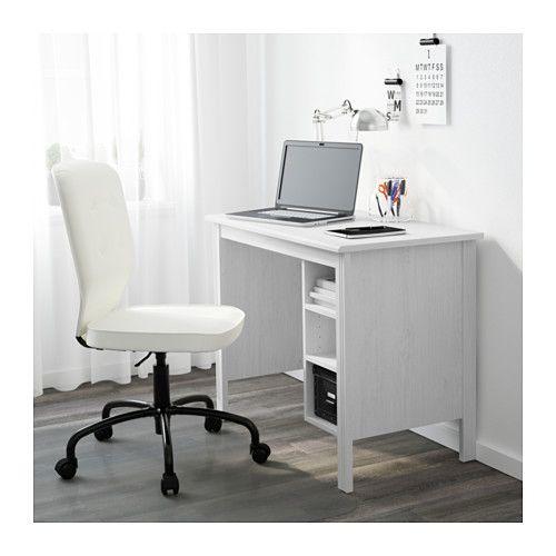 BRUSALI Scrivania - bianco - IKEA