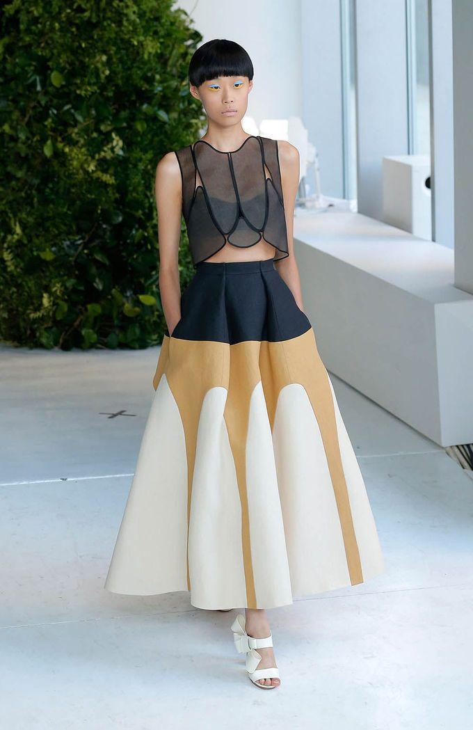 NY Fashion Week SS 2014: Desfile de DELPOZO - Harper's Bazaar
