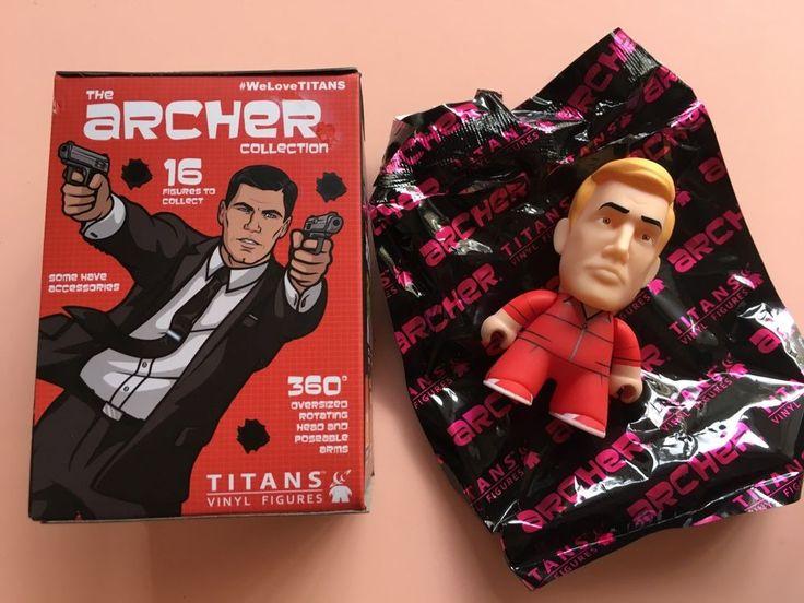 "Titans Archer Blind Box Collection Mini Series Barry Dylan 3"" Vinyl Figure #Titan"