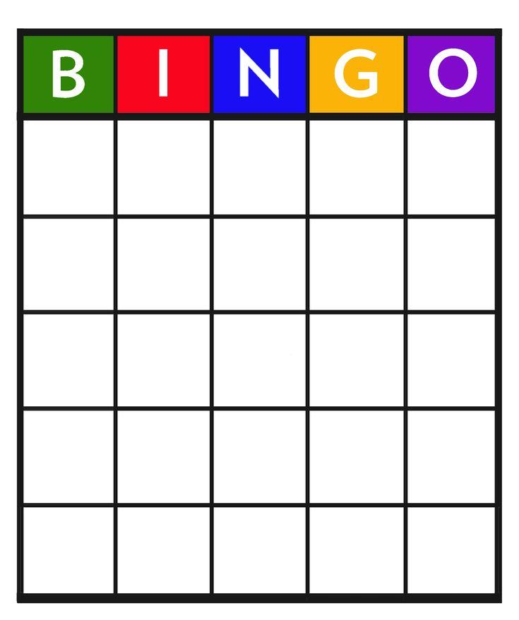 Bingo: carnaval blanco (leuk om met de hele klas te doen bij de carnavalsviering)
