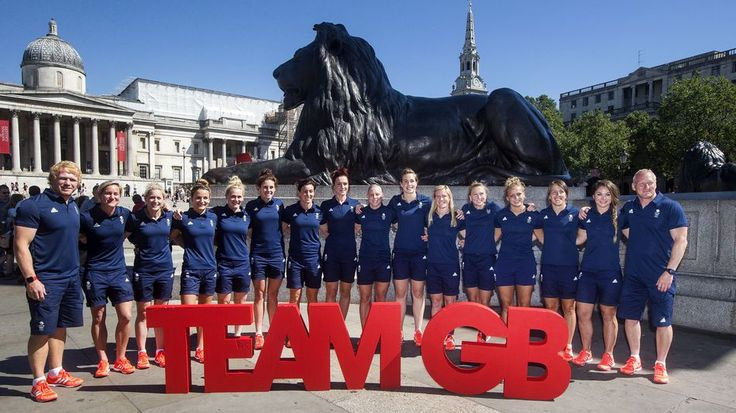 The women's rugby sevens team who will compete on Team GB during the Rio 2016 Olympic Games.