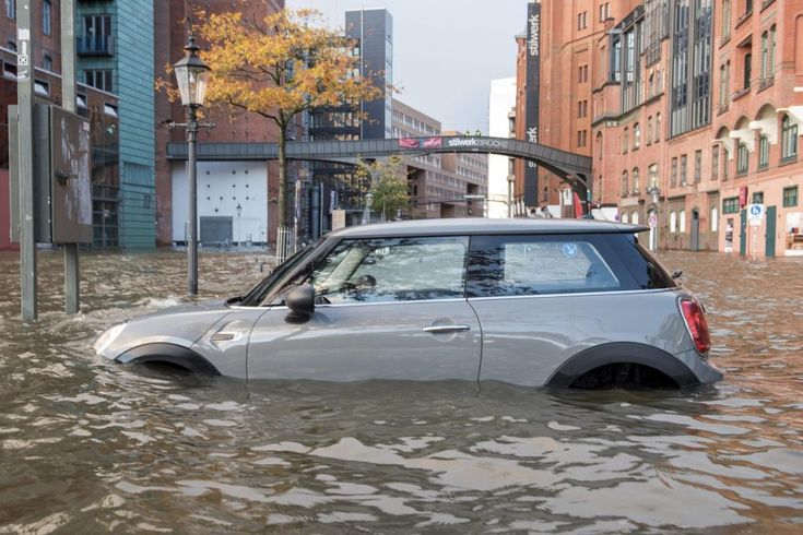 Central European Travel Disrupted by High Winds That Stranded Many  A car stands in the floods near the Hamburg Germany fish market early Sunday October 29 2017. High winds struck the country causing flooding and damage in northern and eastern Germany. Daniel Bockwoldt / Associated Press  Skift Take: Some more wild weather for a change following hurricanes in Ireland the Caribbean and the U.S. as well as an earthquake in Mexico. Let's hope the human toll from this latest storm in Central…