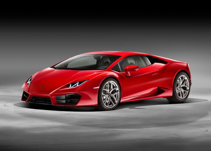 The Lamborghini Huracan, now with Rear Wheel Drive.