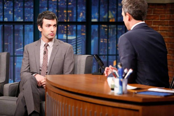 Nathan Fielder appears on Late Night with Seth Meyers - Episode 597 171025 #NathanFielder #LateNightwithSethMeyers