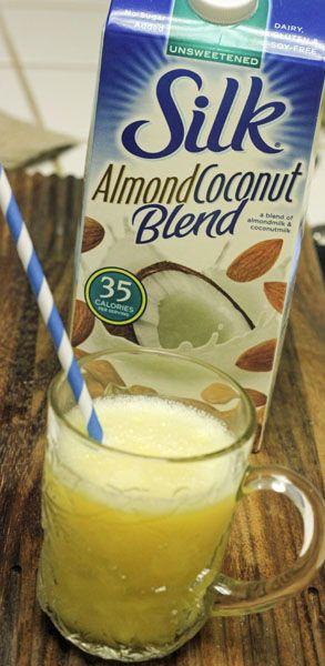 Coconut Orange Julius with Silk Almond Coconut Blend #SilkAlmondBlends #shop