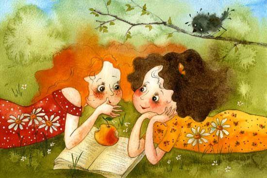 Friends, One for two - Vika Kirdiy,