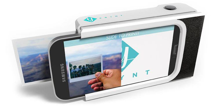 A smartphone case from France that will work like Polaroid cameras. It's set to launch a Kickstarter campaign in January 2015.