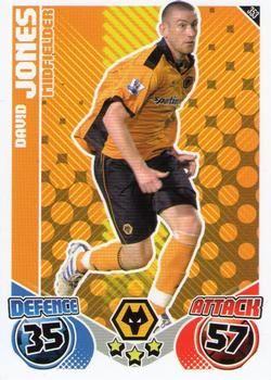 2010-11 Topps Premier League Match Attax #353 David Jones Front
