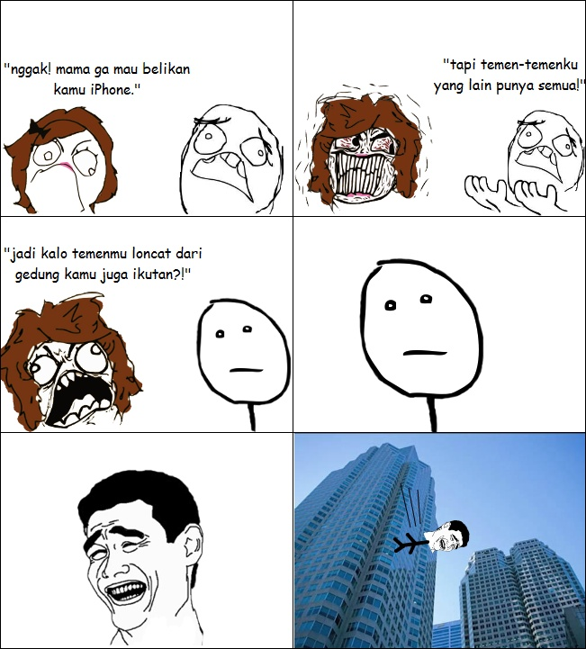 Indonesian Rage Comic
