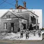 Imágenes de la Primera Guerra Mundial sobrepuestas a la Europa contemporánea (FOTOS)