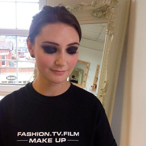 @davinia@DFMA #DFMA #makeupartists #makeup #smokeyeye #dark #purple #black #Padgram