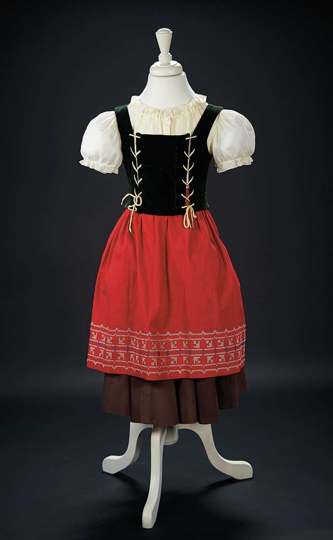 """Love, Shirley Temple, Collector's Book: 165 Traditional Country Costume Worn by Shirley Temple in the 1937 Film """"Heidi"""""""