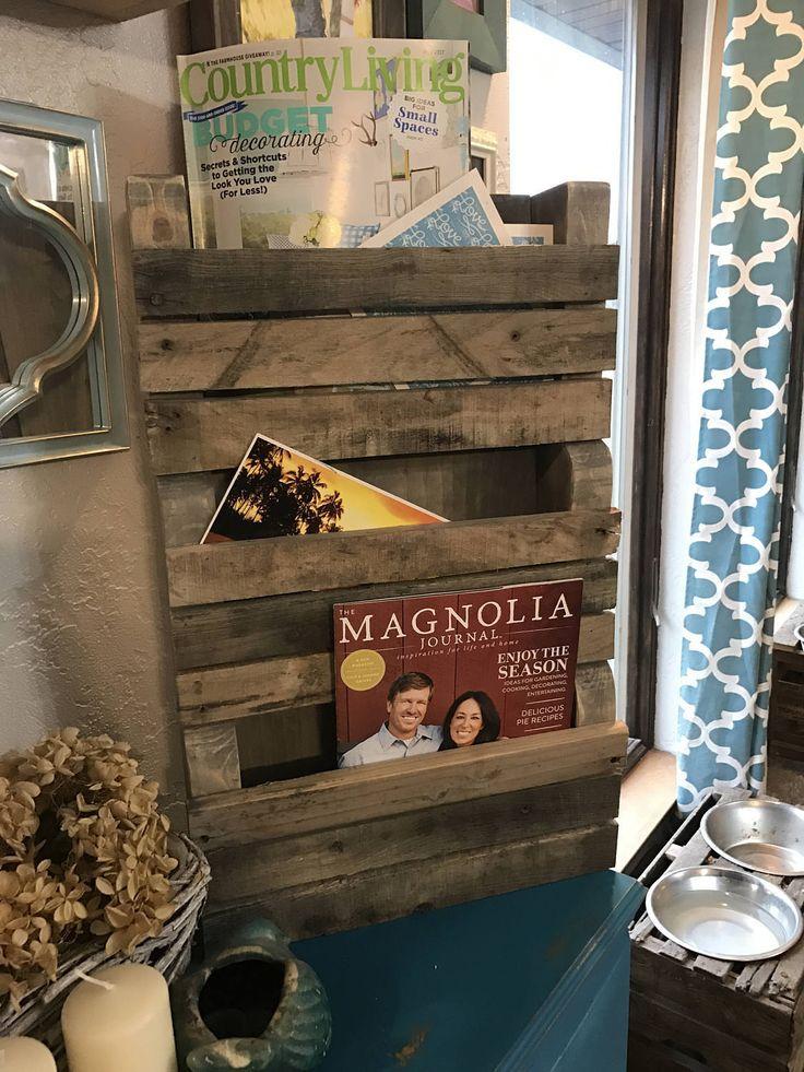 Magazine Rack Magazine Organizer Magazine Holder Wall Magazine Rack Mail Organizer Mail Holder Wood Magazine Rack Rustic Organizer Farmhouse by TwoMooseDesign on Etsy