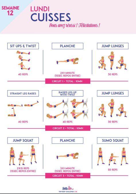 top body challenge et pdf gratuit
