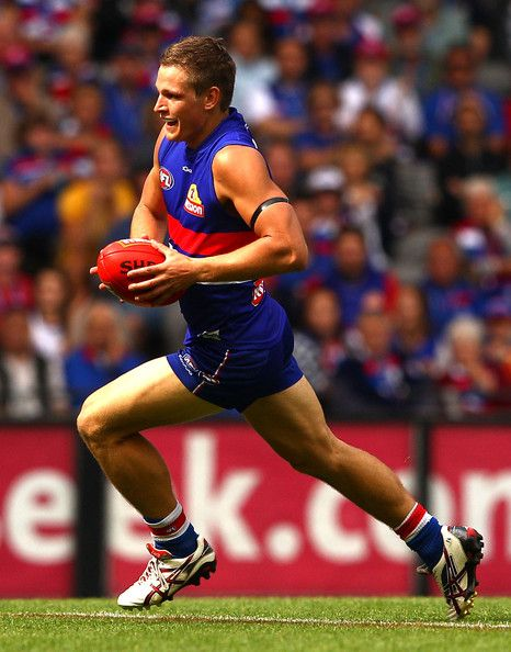 Clay Smith from the Western Bulldogs