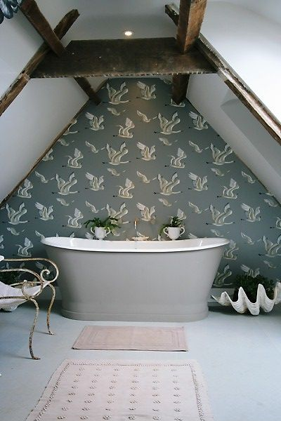 Epoca cast iron bath from Aston Matthews can be painted to match your decor www.astonmatthews.co.uk