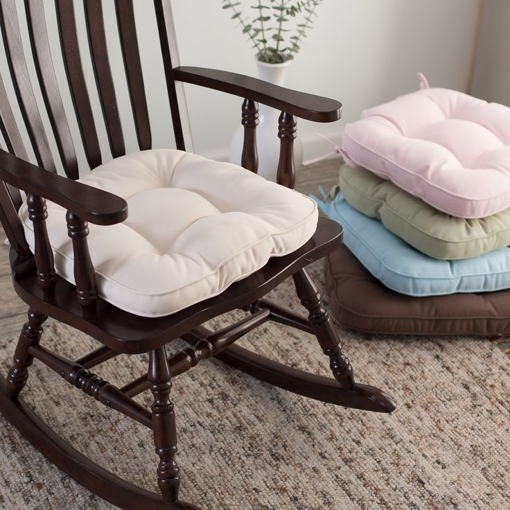 Deauville 18 X 19 Tufted Nursery Rocker Cushion   We Know Your Babyu0027s  Already As Soft