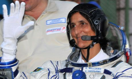 Spacewalker Sunita Williams becomes space station commander
