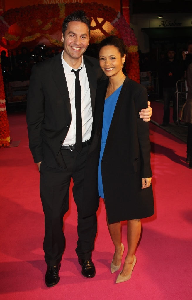 Thandie Newton and her husband, writer/producer Ol Parker. (February 2012)