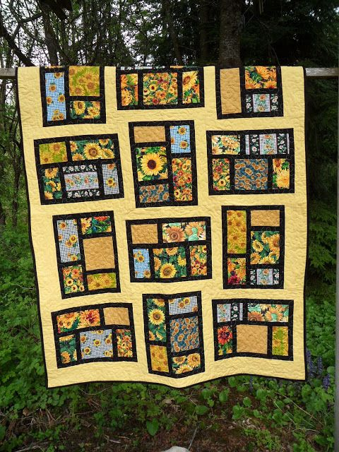"""""""Summer Sunflowers"""". I have the fabric for this"""