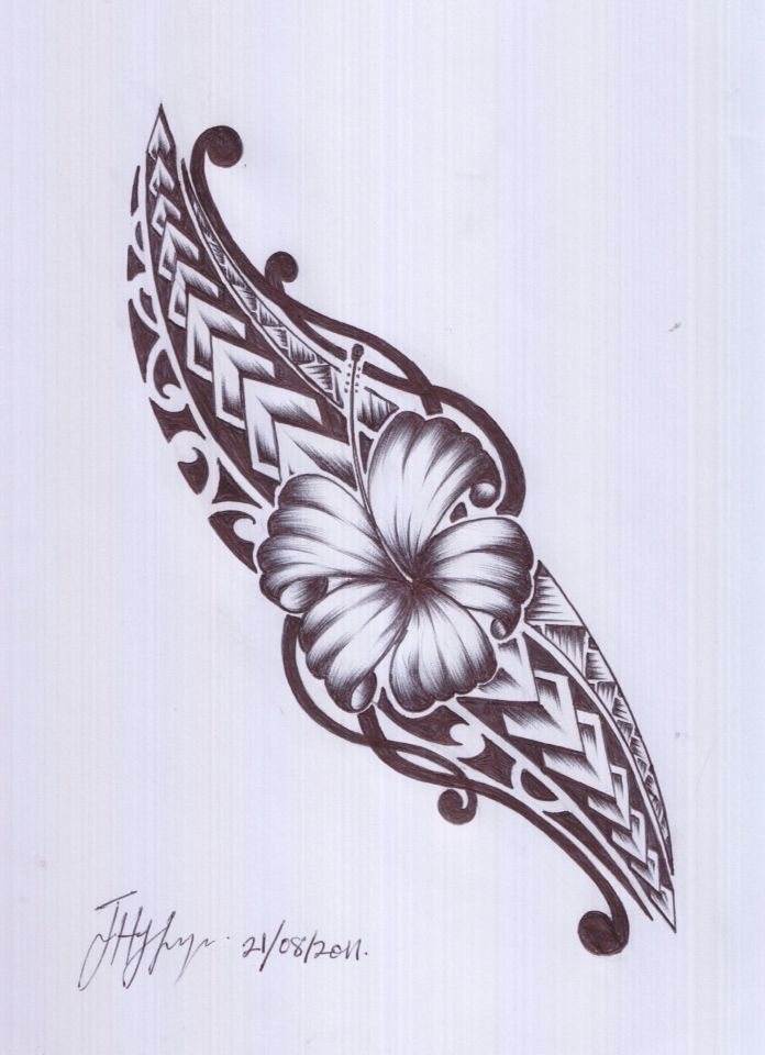 A Samoan and Maori design. I would love this in oblique area