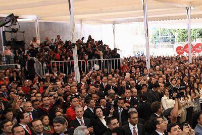 Democracia Social AVE Comité Nacional Entrega de constancia de candidatura a Presidente a Enrique Peña Nieto. Presentes Lic Tomás López y Lic. Ayax M Landa
