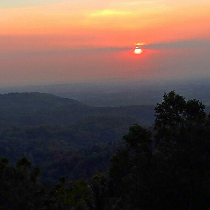 Sunset, Wonosari, Yogyakarta