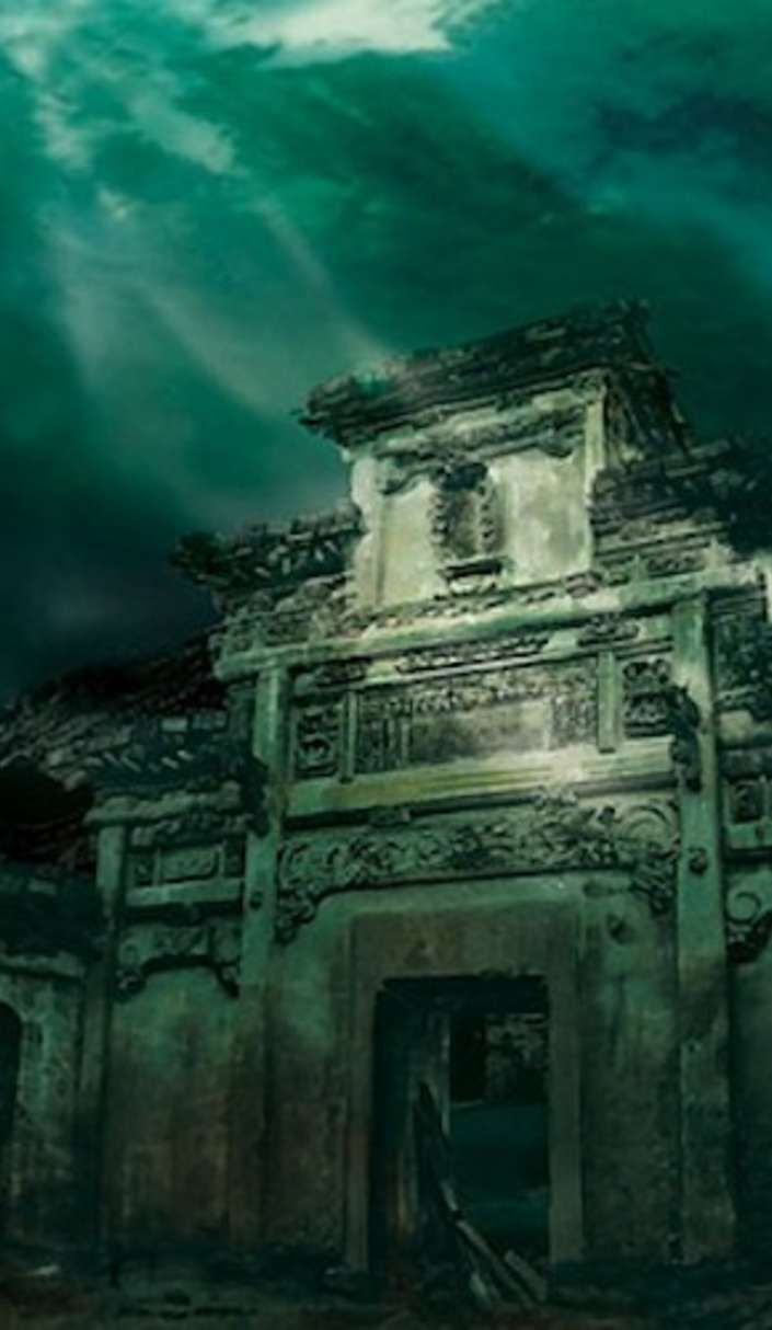 Recently been rediscovered by curious divers…what they found is nothing short of incredible... sunken Chinese city