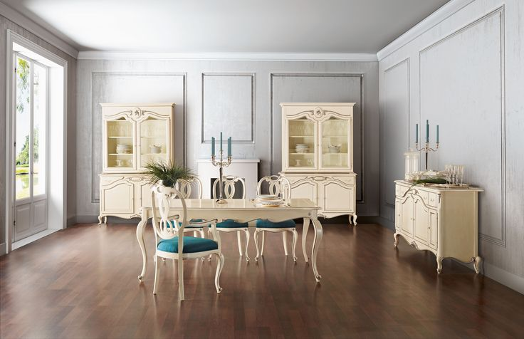 Glamour beige dining room  Jetclass | Real Furniture luxury furniture and Interior Design