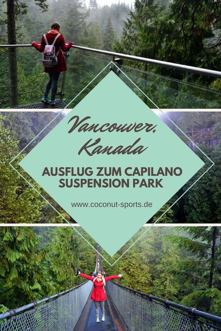 Der Capilano Bridge Park liegt im Norden von Vancouver. Hier findet ihr die spektakuläre Suspension Bridge, den Cliffwalk und die Treetops Adventures.