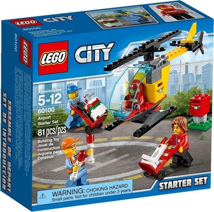 Lego City 60100 Letiště Startovací sada - 0