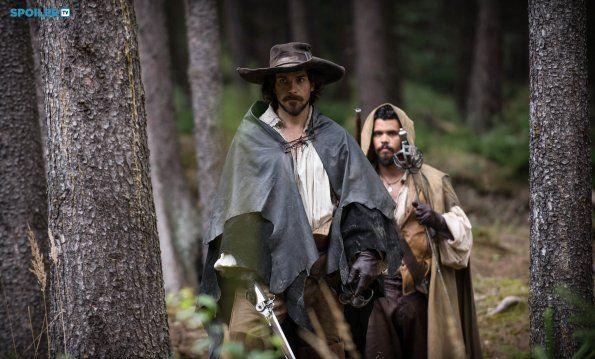 Ah yes. That time Porthos looked like a Jedi.  The Musketeers - Season 2 - Porthos & Aramis (via spoilerTV) *Spoilers*