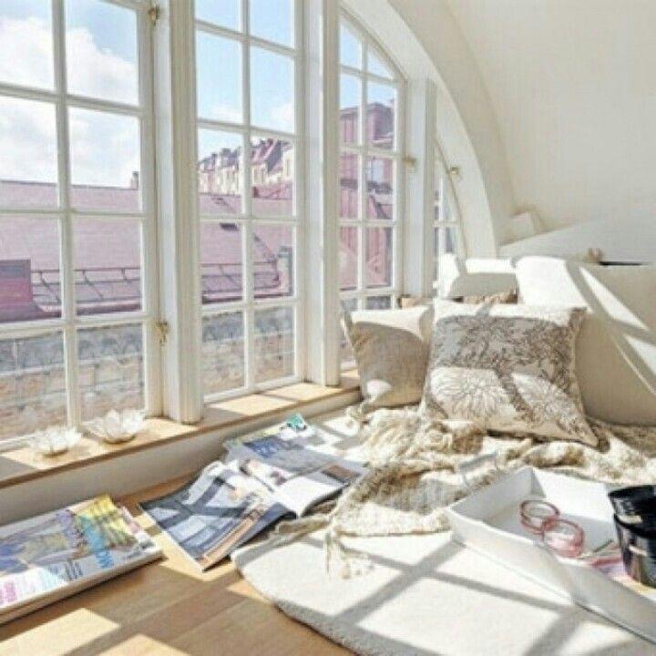 Window view pillows