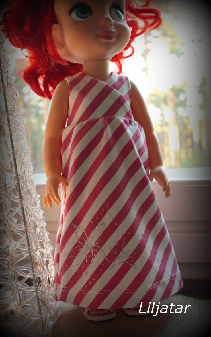 Animator doll dress