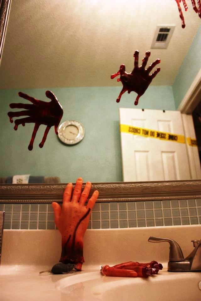 25 bathroom halloween decorations ideas - Halloween Bathroom Decorations