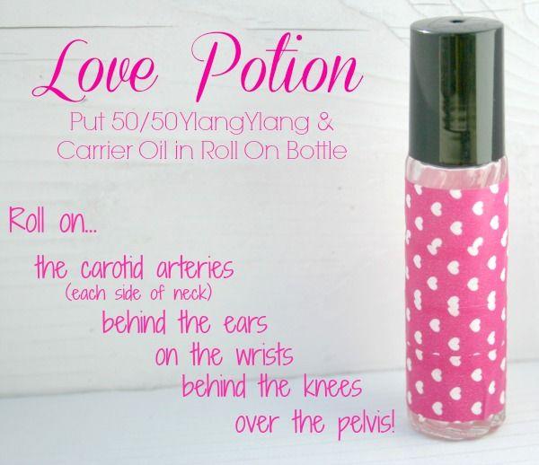 Love Potion Using Essential Oil Ylang Ylang Order Through