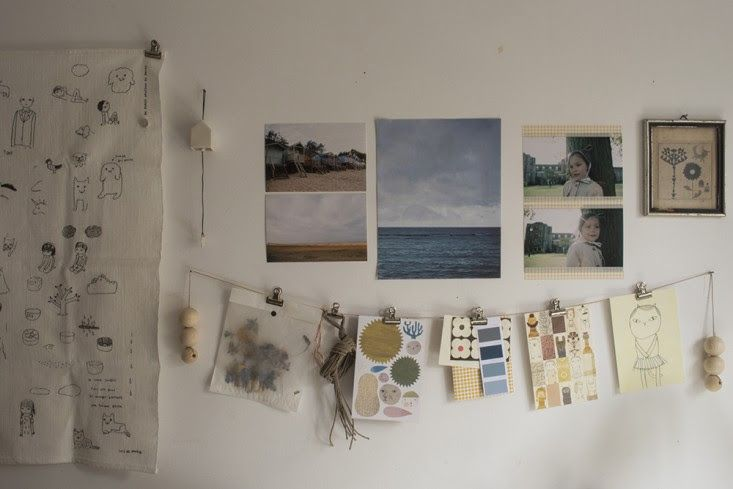 Alessandra Taccia home, living room, Remodelista