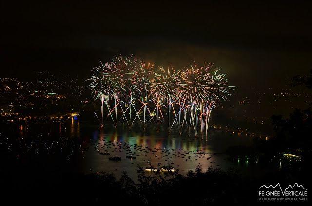 Peignée Verticale: Fête du Lac d'Annecy : les 10 plus belles photos du feu d'artifice 2013 !