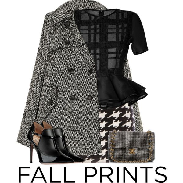 """Fall Prints"" by stacey-yecats on Polyvore"