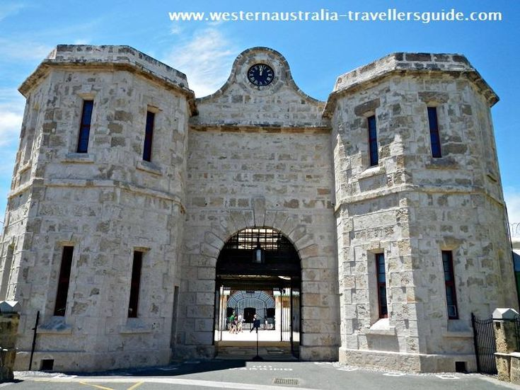 Top 10 Things to do in Perth #4 - tour the Fremantle Prison