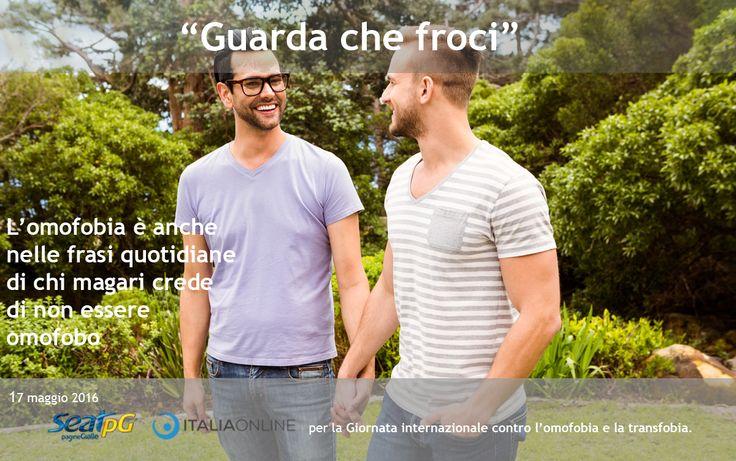 SEAT PagineGialle e Italiaonline per la Giornata internazionale contro #omofobia