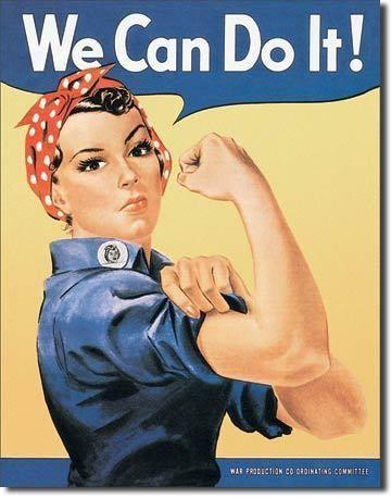Publicité ancienne américaine - Rosie the Rivetor - Déco Américaine