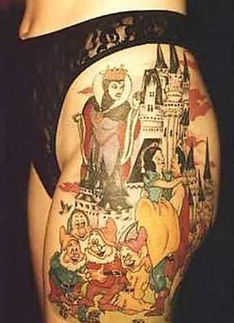seven dwarfs tattoo design   Tattoos   Tattoos, Cartoon ...