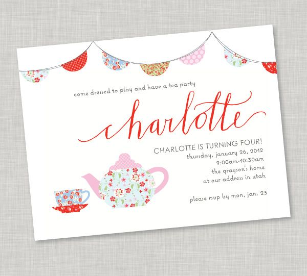 84 best images about AG and BR Tea Party – Little Girl Tea Party Invitations