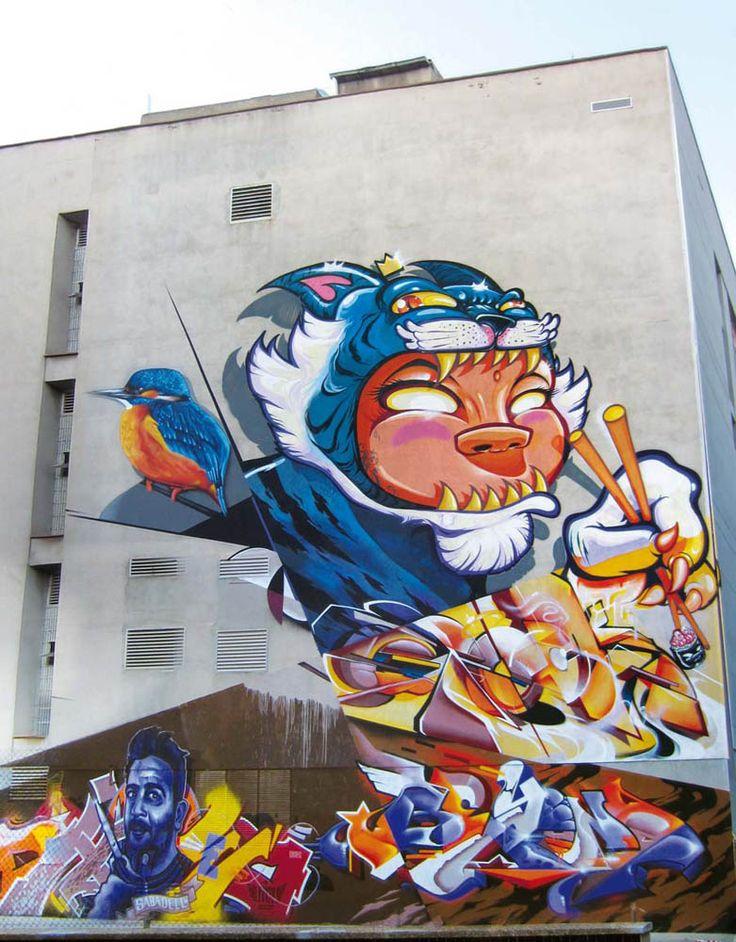 Mr Wany – 'Walls Talk 6' – Barcelona, Spain