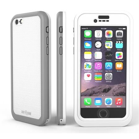 Image of Wetsuit Impact Waterproof Rugged Case for iPhone 6S/6, Silvertail
