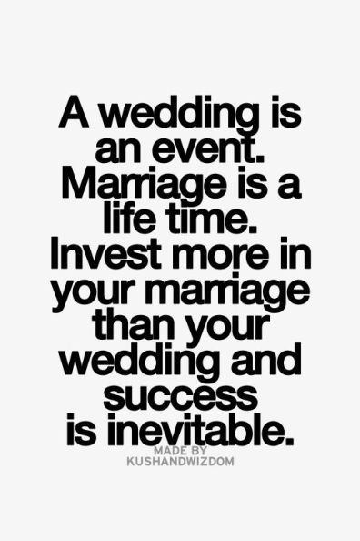 Great advice for newly engaged couples! #quote #marriage