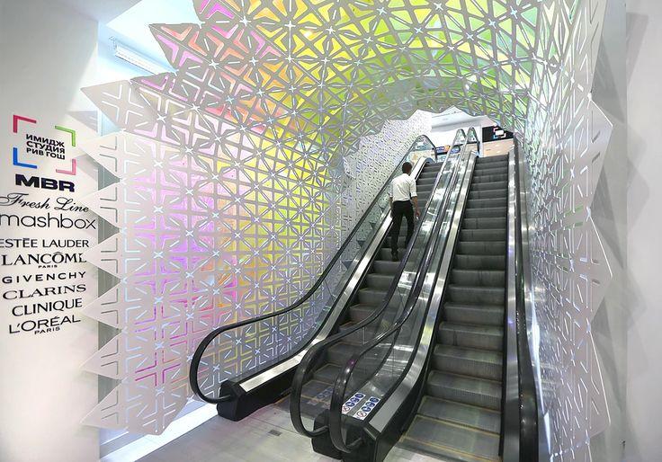 AMD Architects #parametricdesign #ornamentarchitecture #contemporaryart #installation