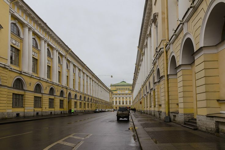 Александр Дроздов – Санкт-Петербург, улица Зодчего Росси
