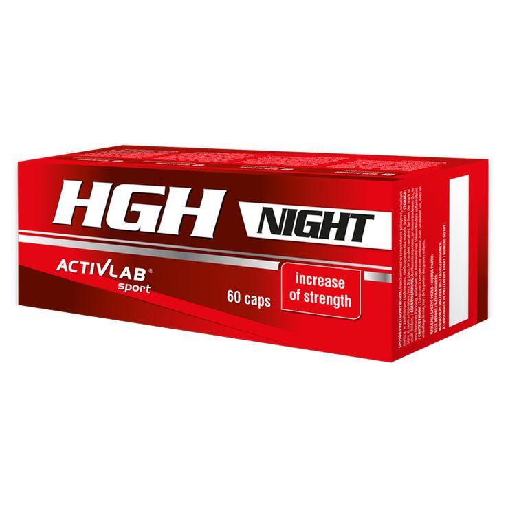 Activlab HGH Night – Aumento della forza!